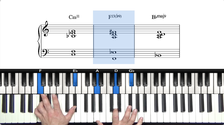 How To Learn & Memorise Jazz Piano Chord Voicings | Extended