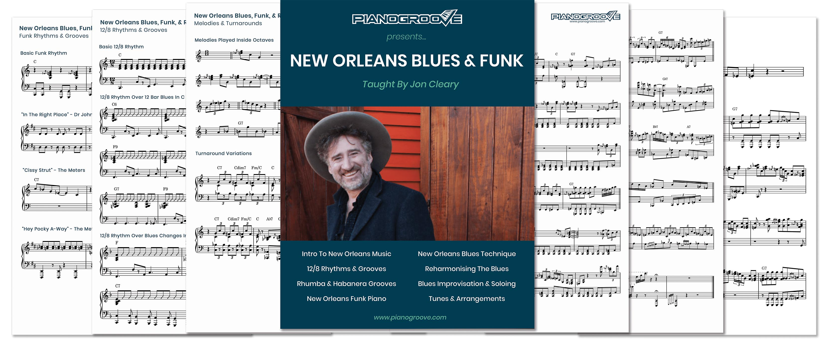 Jon Cleary Piano Lessons